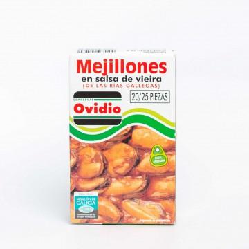 Mejillones en salsa de...