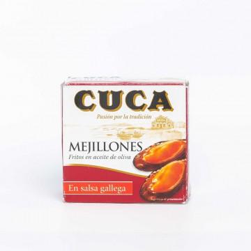 Mejillones en salsa gallega...