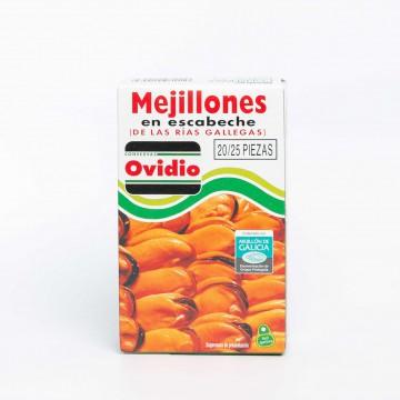 Mejillones en escabeche de...