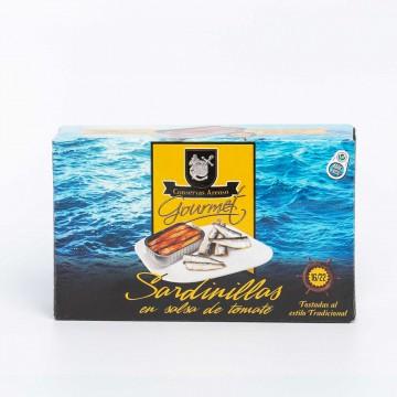 Sardinillas en salsa de...