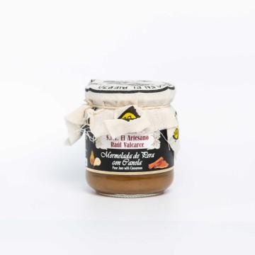 Mermelada de pera con canela